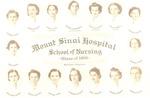 Mount Sinai School of Nursing, class of 1938 portrait