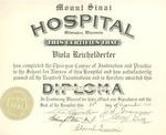 Mount Sinai nursing diploma