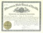 Registered nurse certificate