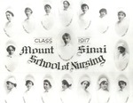 Mount Sinai School of Nursing, class of 1917 portrait