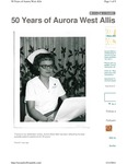50 Years of Aurora West Allis - Hospital opening memories by Aurora Health Care