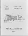 West Allis Memorial Hospital Cancer Program Annual Report, 1985 by Aurora Health Care